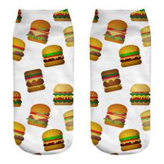 boatsock, Cotton Socks, Hamburger, whitesock