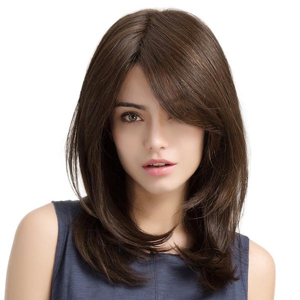 wig, fashionbrownwig, womenhairwig, heatresistantwig