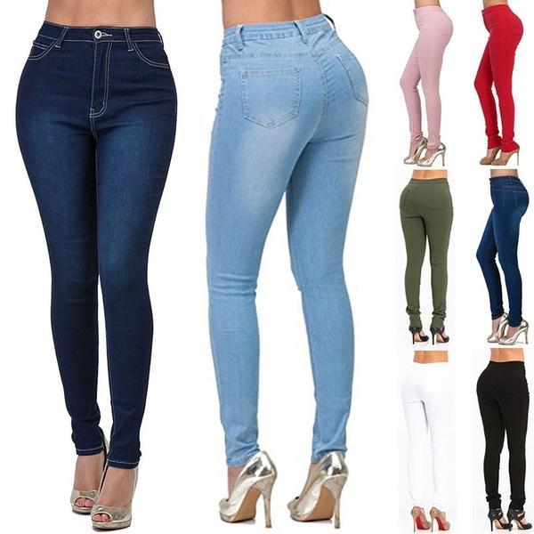 Summer, shapingjean, skinny pants, Casual pants