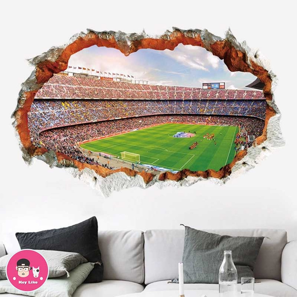 PVC wall stickers, worldcup, diywallsticker, Wall Decal