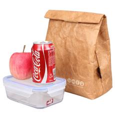 Box, brown, Snacks, Picnic