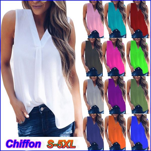 blouse, Fashion, chiffon, Summer