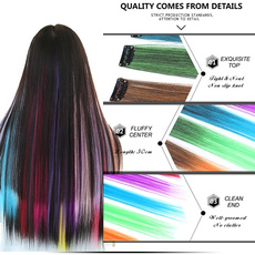 Hairpieces, colorfulhairpiece, hairpiecesforwomen, falsesynthetichairpiece