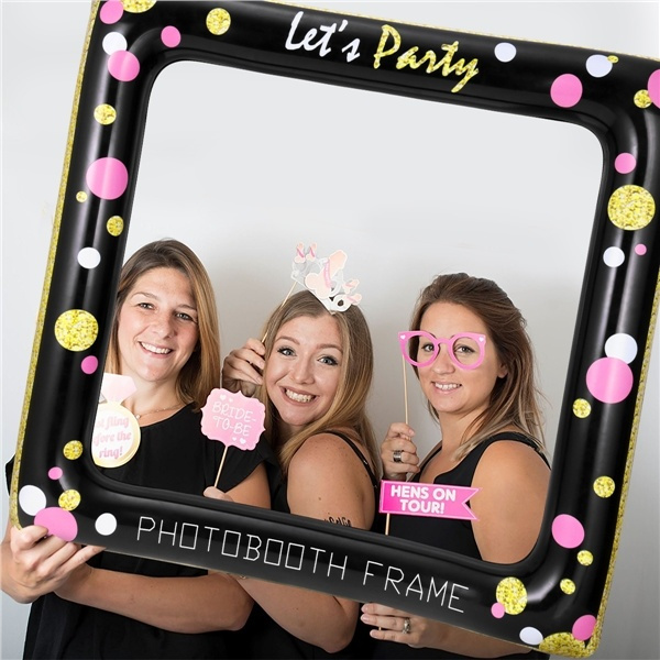 selfie frame Pink Giant Selfie Inflatable Picture frame baby shower great party fun wedding birthday hen party