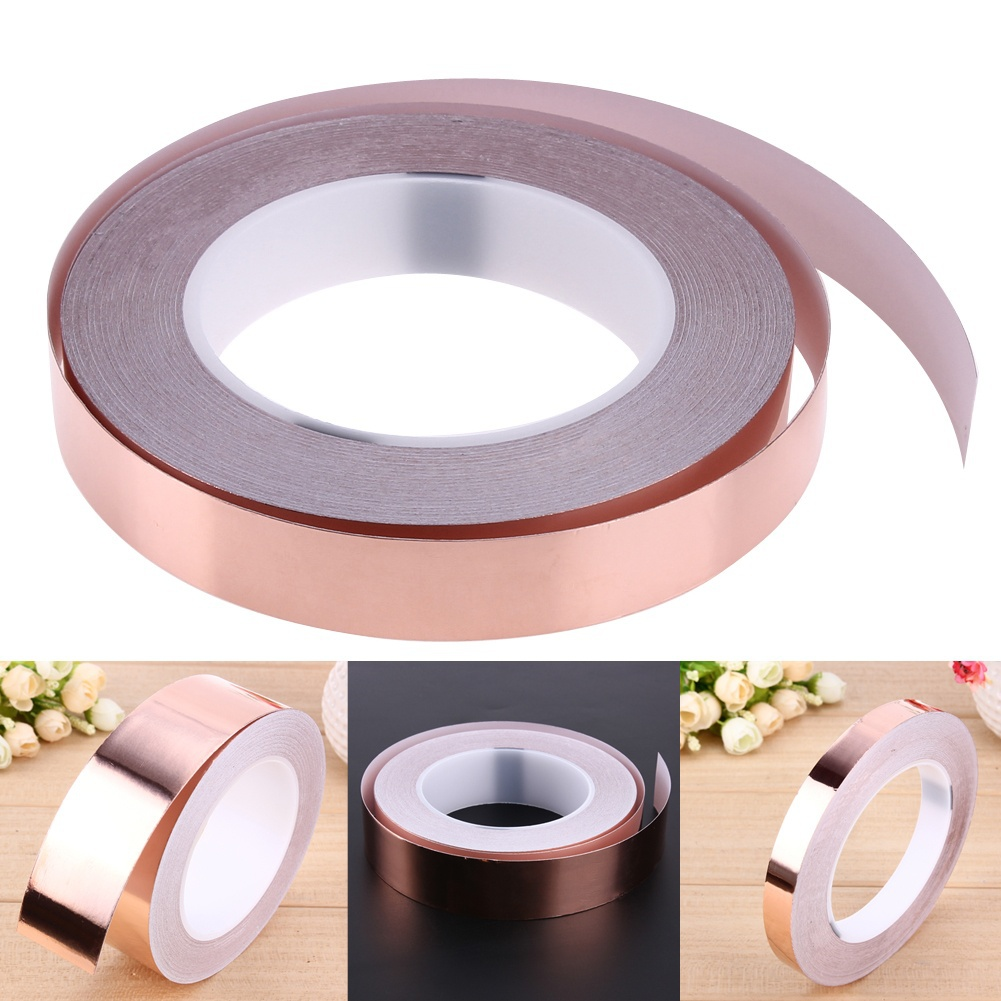 Electrical Conductive Adhesive Copper Foil TAPE 30m Single-sided Shield TAPE QY