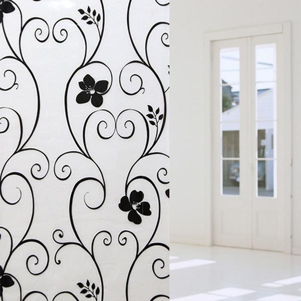 Home & Kitchen, Decor, Flowers, windowsticker