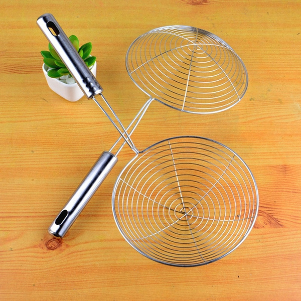 colanderfilter, Steel, spooncolander, fruitsbasket