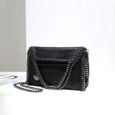 tessuto, Shoulder Bags, PU, leather bag