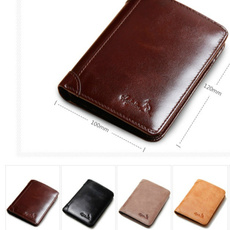 leather wallet, shortwallet, Fashion, fathersdaygift