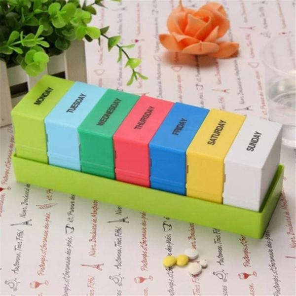 Box, case, pillbox, Container