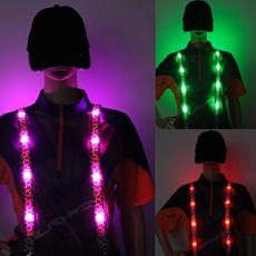 suspenders, ledbrace, Leopard, Fashion