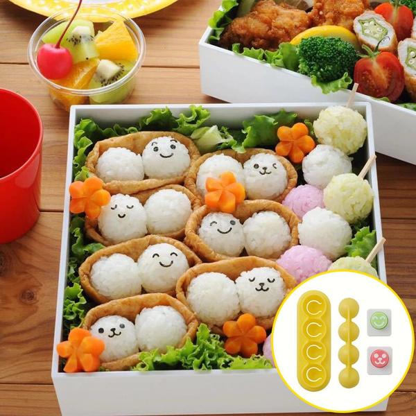 Box, cute, Sushi, Mini