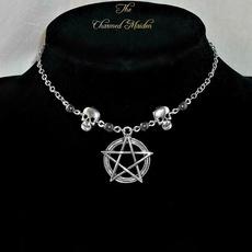 wiccan, Goth, wicca, skull