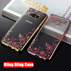 DIAMOND, iphone, shockproofphonecase, samsunggalaxys5s6s7s8edgeplu