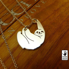 personalisedslothnecklace, valuedgift, Jewelry, Gifts