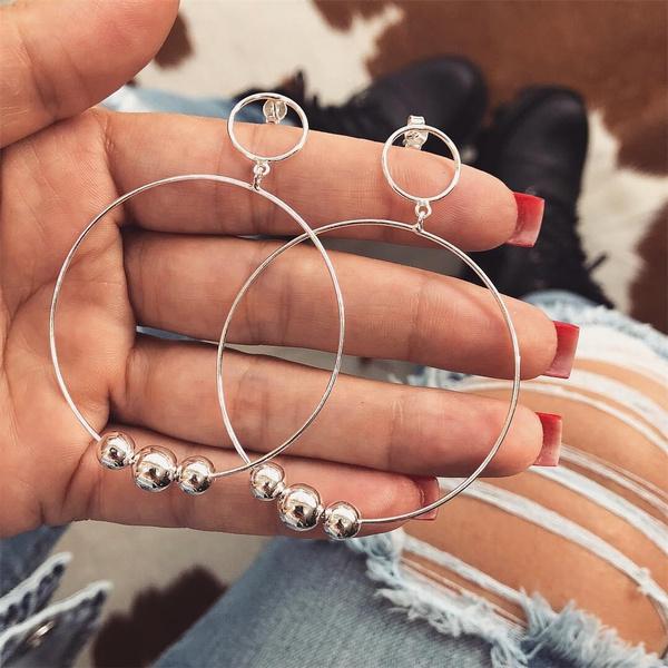 bighoopearring, roundhoopearring, Hoop Earring, Jewelry