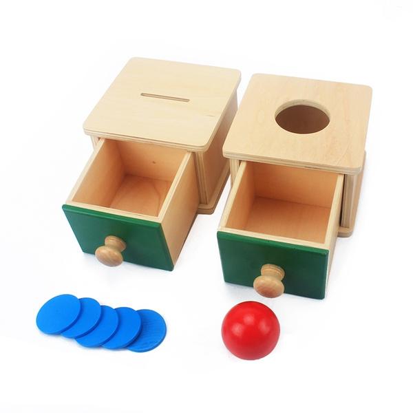 Box, montessori, coindrawer, babystuff