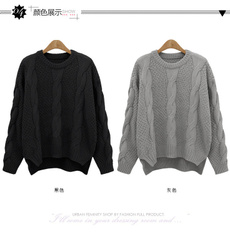 Fashion, knitjacket, looseknitted, Long Sleeve