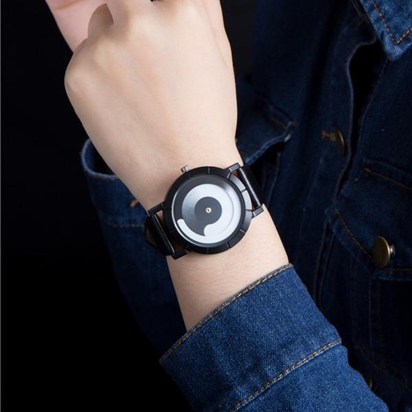 quartz, creativewatch, couplewatch, leather strap