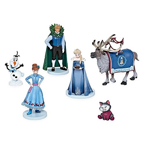 Set of 3 Disney Olaf/'s Frozen Adventure Bullyland Figures Great Cake Toppers