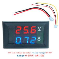 voltvoltagetester, currentmeter, voltagecurrenttester, leddisplay