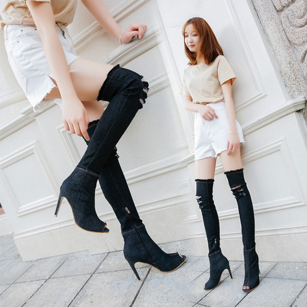 Summer Thigh High Boots