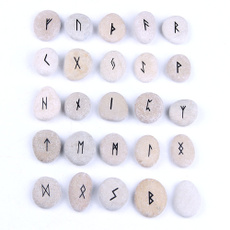 fortunetelling, tumbledstone, fengshuidecor, runeset