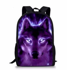 travel backpack, Shoulder Bags, Polyester, animeknapsack