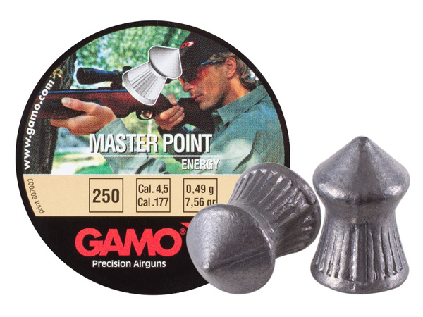 gamomasterpoint177cal, 250ct, pointed, airgunpellet