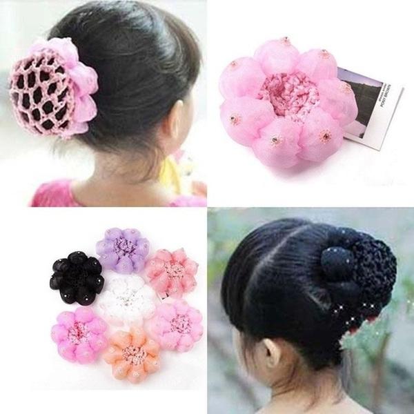 babygirlhairstick, hairholder, Elastic, Colorful