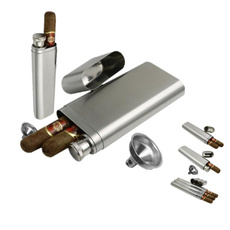 Steel, cigartube, cigarpipe, Stainless Steel