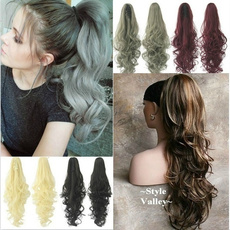 wig, curlyhairpiece, colorfulhairpiece, longcurlywig