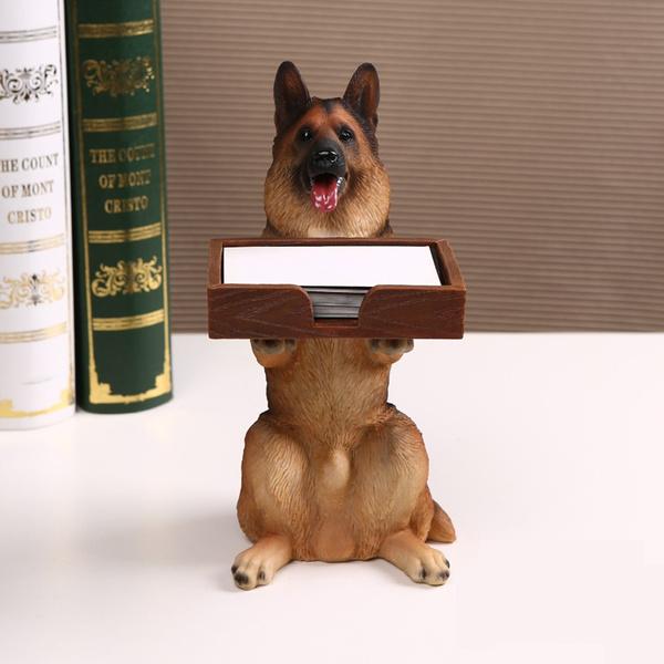 Storage Box, case, dogfigurine, businesscardcase