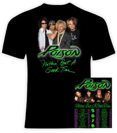 concerttour, Cotton T Shirt, bandtshirt, summer t-shirts
