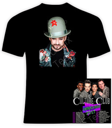 cultureclub, concerttour, Cotton T Shirt, bandtshirt