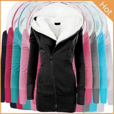 woolen coat, Fashion, women coat, Long Coat