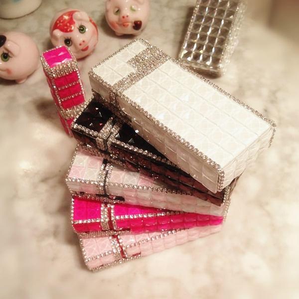 Box, crystaldiamondcigarettecase, Cigarettes, Fashion