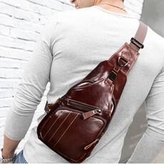 menschestbag, travel backpack, cowhideleather, body bag