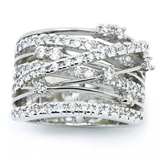 silver plated, Silver Jewelry, 18k gold, wedding ring