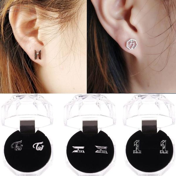 K-Pop, Fashion, Men Earrings, Jewelry