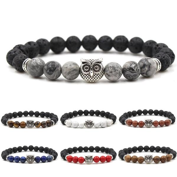 Charm Bracelet, Owl, eye, Jewelry