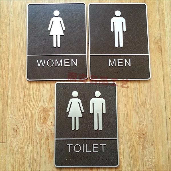 toilet, indicator, wc, men women