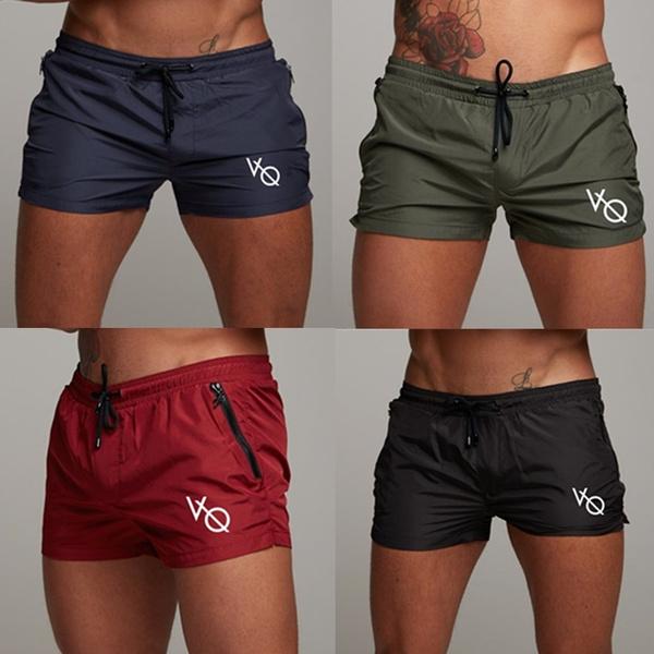 Summer, Beach Shorts, Fitness, Slim Fit