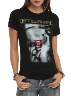 womencottontshirt, Cotton T Shirt, inthismoment, blacktshirt