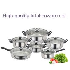 Steel, Kitchen & Dining, stockpot, Stainless Steel