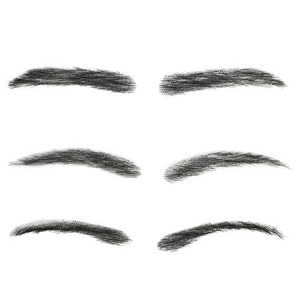 realhair, onecharactereyebrow, hair, Ladies