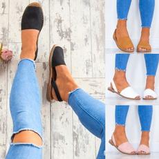 Summer, Flip Flops, Sandals, Flats