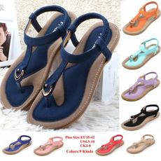 Flats, Flip Flops, Sandals, Summer