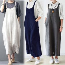 salopettesdété, trousers, Cotton, pants