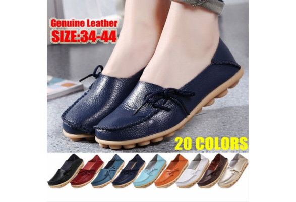 nubuck loafers casual bowknot shoes